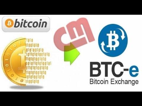سایت BTC-e : برداشت بیت کوین